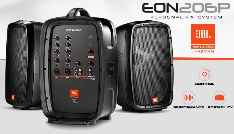 EON206P  Système de diffusion portable amplifié